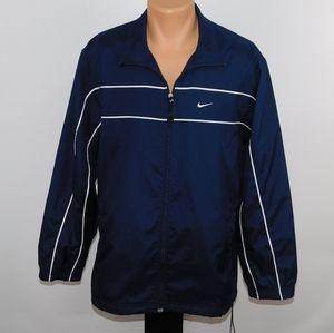 Nike full zip mesh lined windbreaker.  M